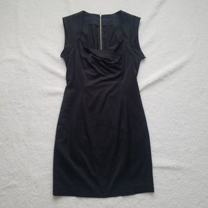 Plastic Island bodycon Little Black Dress Size 8